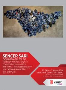 SENCER SARI Davetiye (12x18cm)