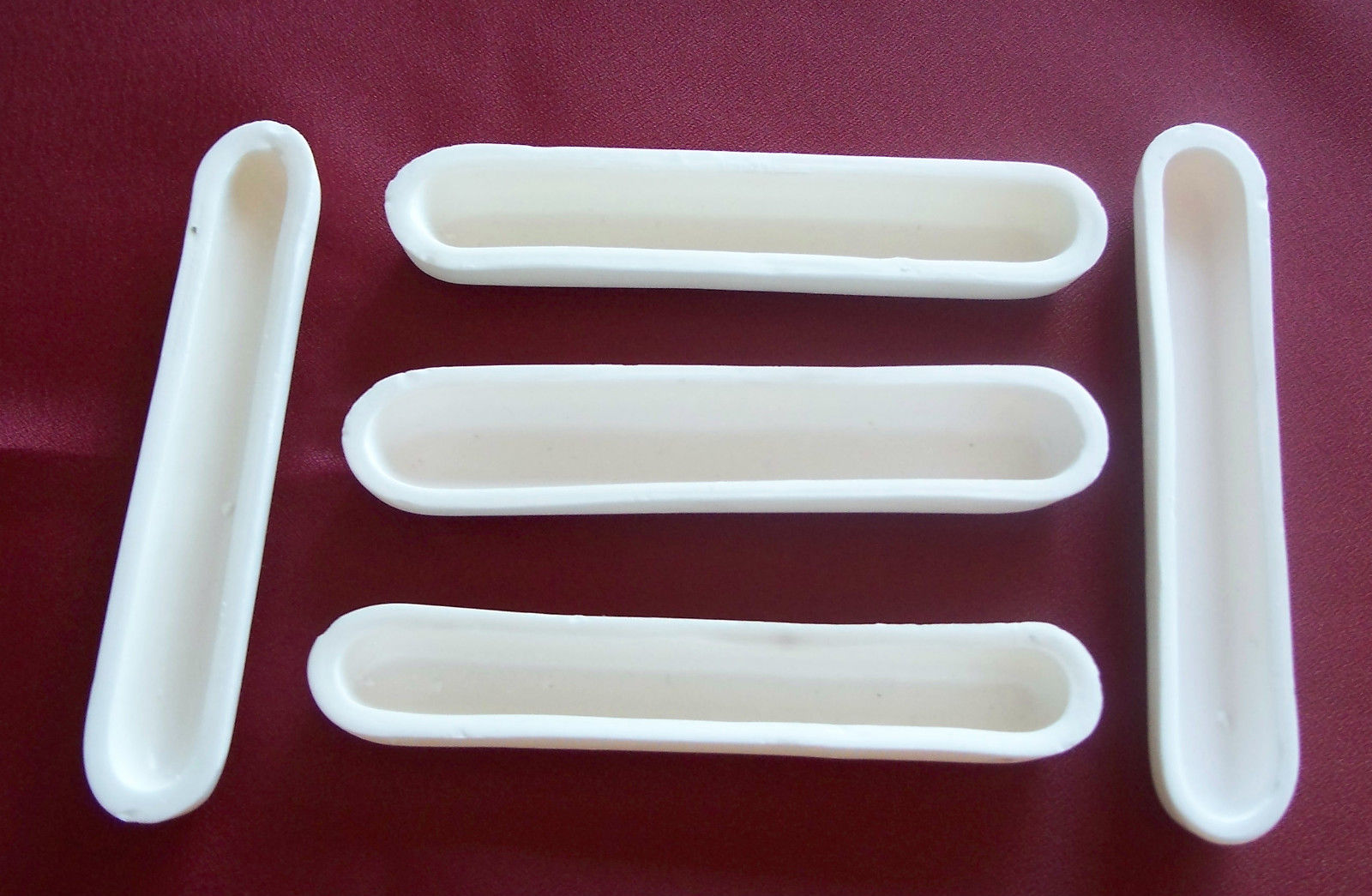 Alumina Ceramic Crucible Boats Sencer Sarı