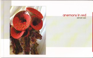 anemons in red